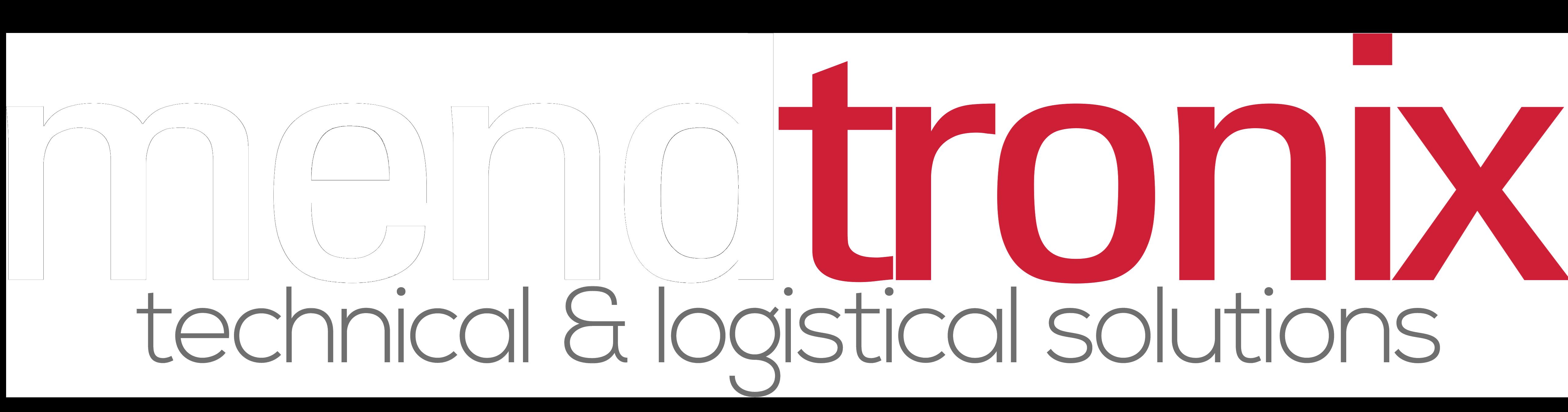NEW Transparent Mendtronix Logo (For dark backgrounds)
